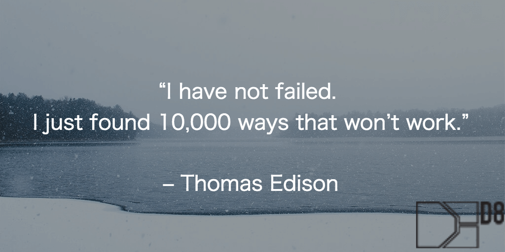 Quote from Thomas Edison